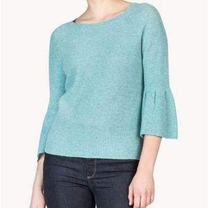 Lilla P. 100% Cashmere 3/4 Bellsleeve Sweater